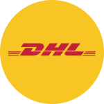 Logo DHL - corona -